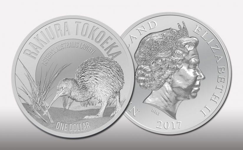 Kiwi Silbermünzen 2017 aus Neuseeland wieder in kleiner Auflage