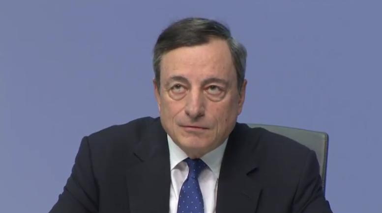 Mario Draghi sollte mit Null-Zinsen Goldpreis beflügeln