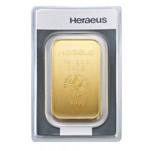 Goldbarren kaufen 100 Gramm