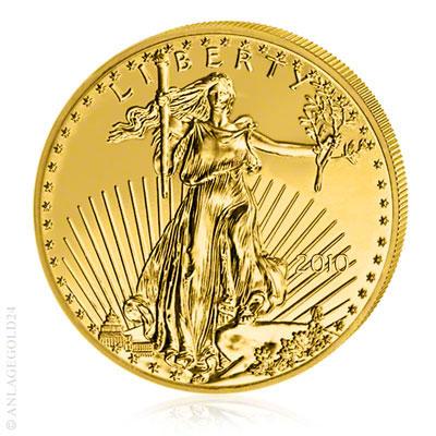 Gold Eagle USA 1 Unzen Münzen - Millionenfach verkauft