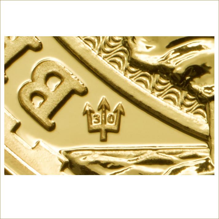 Wer Britannia Gold kaufen will sollte auf dieses Zeichen achten