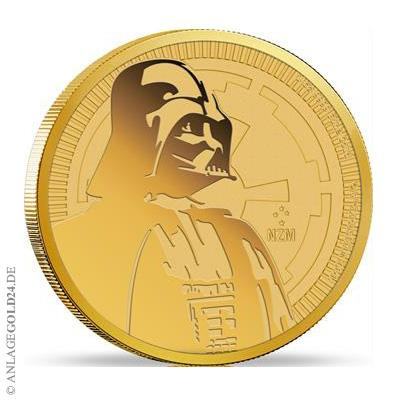 Darth Vader Goldmuenze 2017 1oz