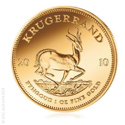 Gold kaufen - Kruegerrand 1oz
