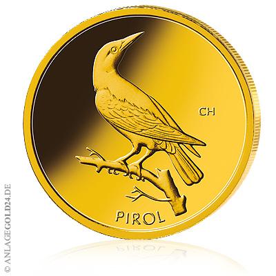 Pirol Goldmünze 20 Euro 2017 Deutschland