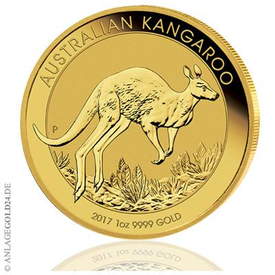 Goldmünzen Känguru Perth Mint