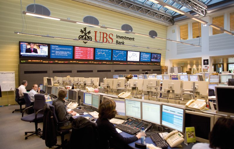 UBS-Goldpreis-handelsraum