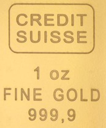 Credit Suisse sieht Goldpreis auf über 1300$ steigen