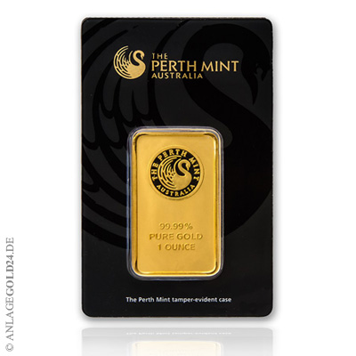 Goldbarren Perth Mint 1 oz