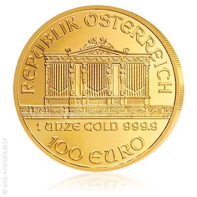 Goldmuenze Wiener Philharmoniker Oesterreich