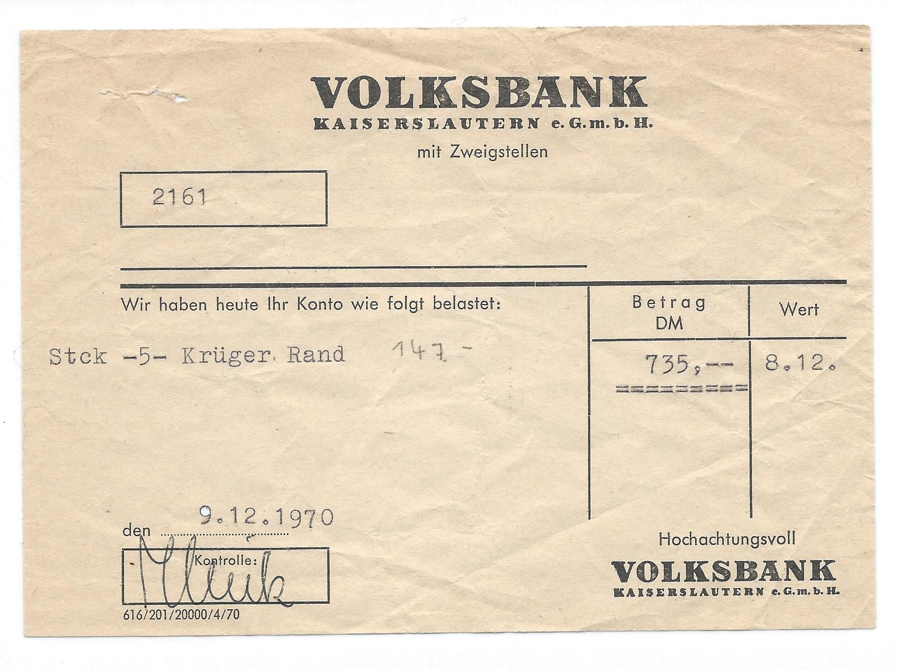 kruegerand-kaufquittung-1970-goldmuenze