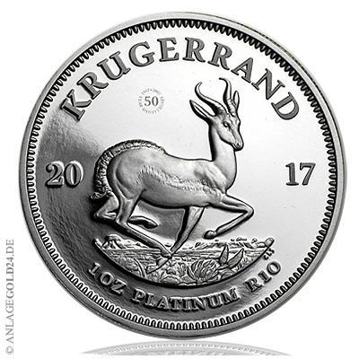 Platin Krügerrand in Südafrika ausverkauft – 2017er-Sonderausgabe