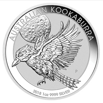 Kookaburra 2018 Silber 1oz Perth Mint