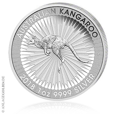 Känguru 2018 Silbermünzen Australien