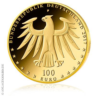 100 Euro Luthergedenkstätten Goldmünze 2017