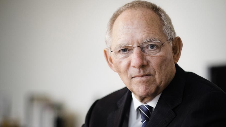 Dr. Wolfgang Schäuble warnt vor Finanzkrisen