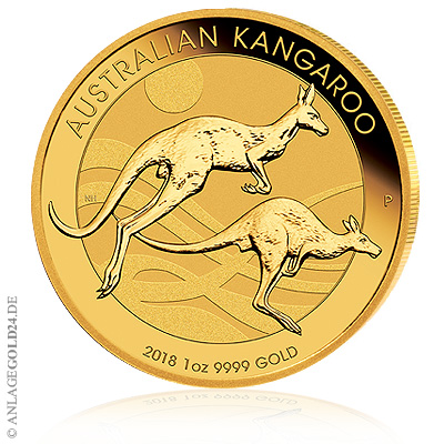 Gold Känguru 2018 Perth Mint Münze