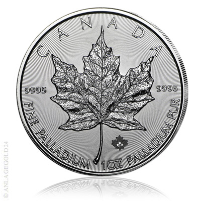 Palladium Maple Leaf Münze