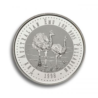 Palladium Münze EMU