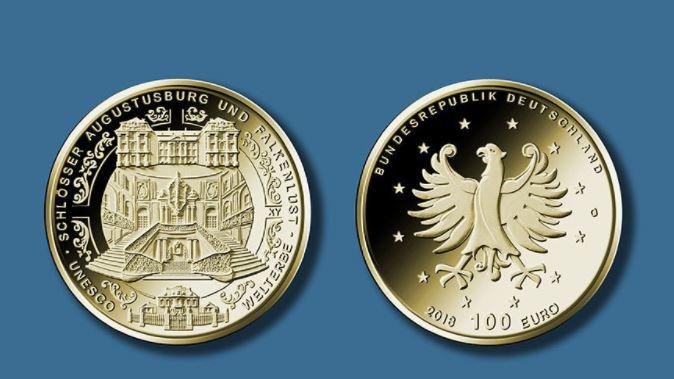 Augustusburg-goldmuenze-100-euro-2018-deutschland