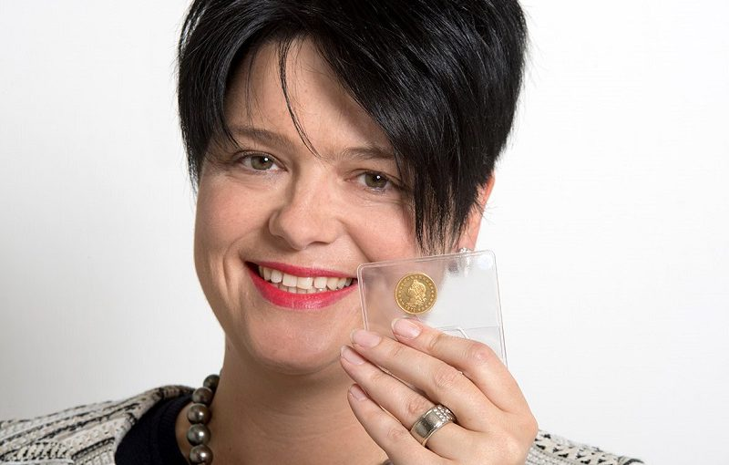 20 Franken Goldmünze für 46.360 Franken versteigert – Durussel Probe