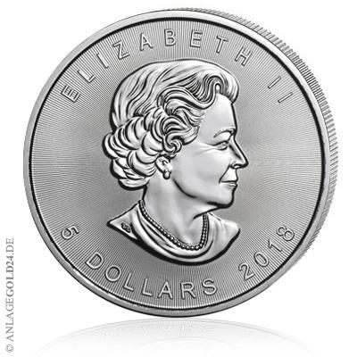 2018 Maple Leaf Silber 1 oz