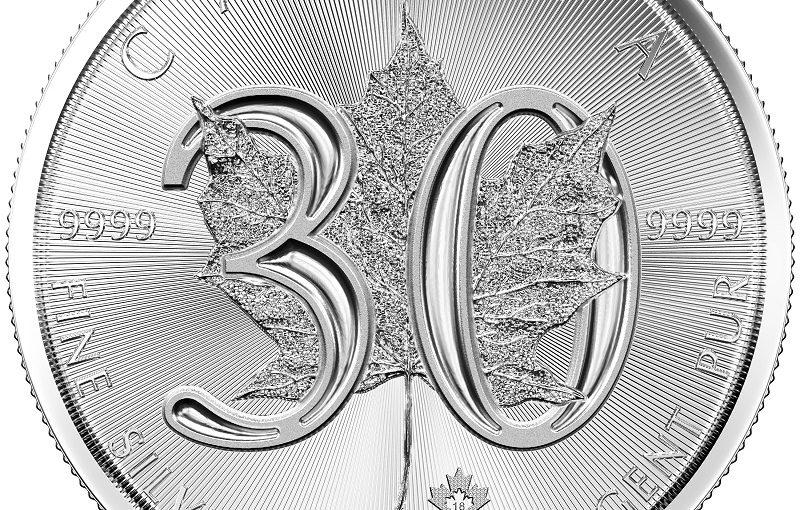 30 Jahre Maple Leaf in Silber – 2 Sonderausgaben: Maple Incuse und Maple 30 Years