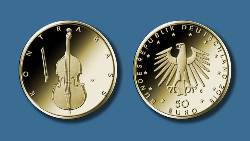 50-euro-kontrabass-deutschland-2018-goldmuenze