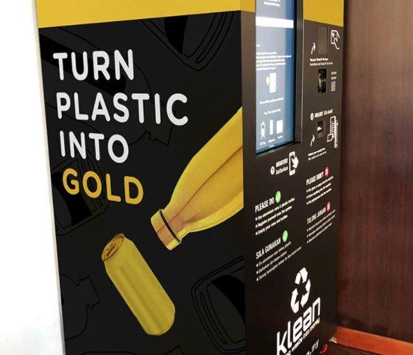 Leere Pfandflaschen und Dosen gegen GOLD eintauschen