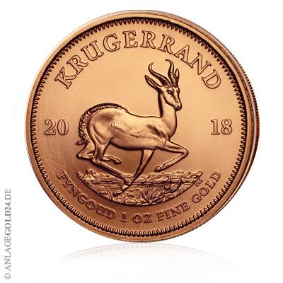 Krügerrand Goldpreis 2018