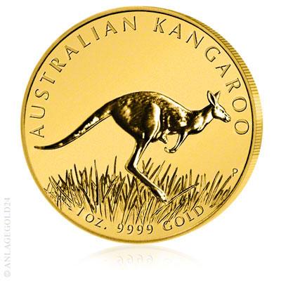 Känguru Goldmünzen aus Australien stark gefragt