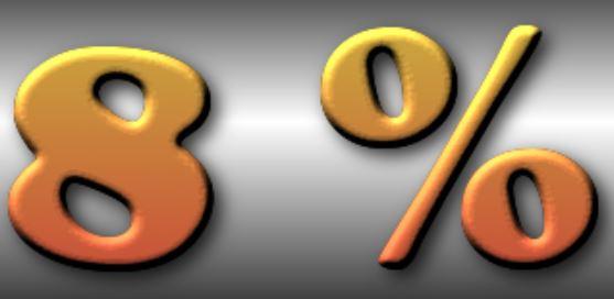 Wie man mit Gold pro Jahr 8% verdient