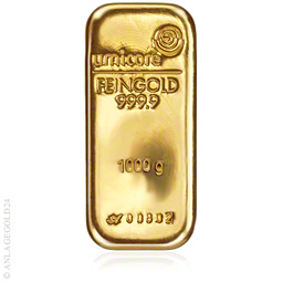 Goldbarren 1kg gold