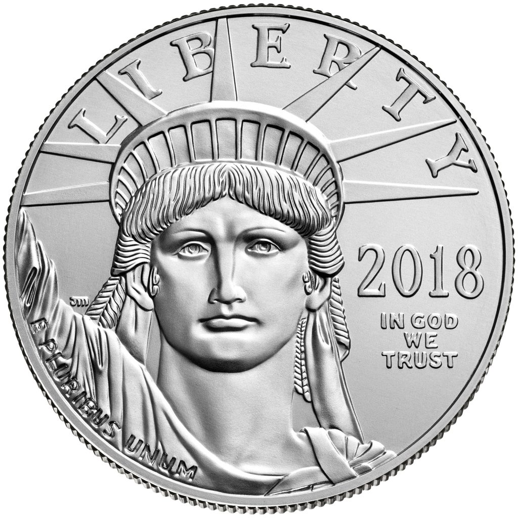 Platin Eagle USA 2018 1oz