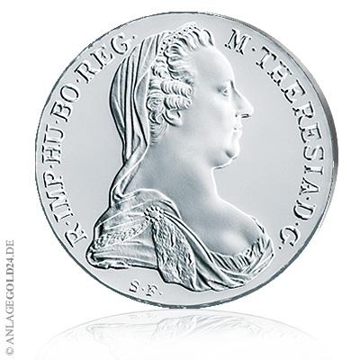 Maria Theresia Taler 1780 Silber