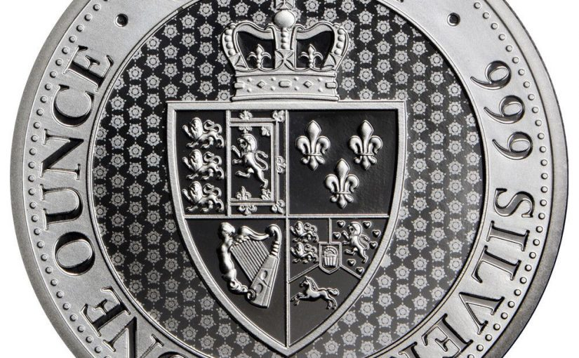 St.Helena überrascht mit neuer Silberunze Spade Guinea Shield 2018