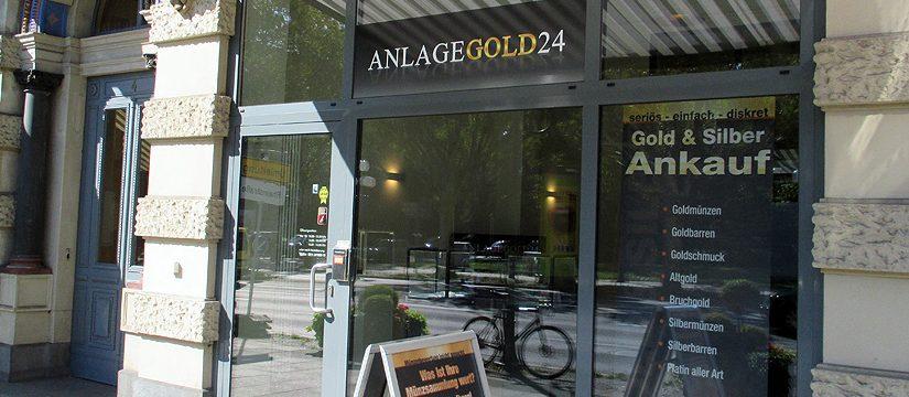 Goldankauf Wiesbaden Anlagegold24