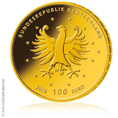 100 euro Augustusburg 2018 Goldeuro A