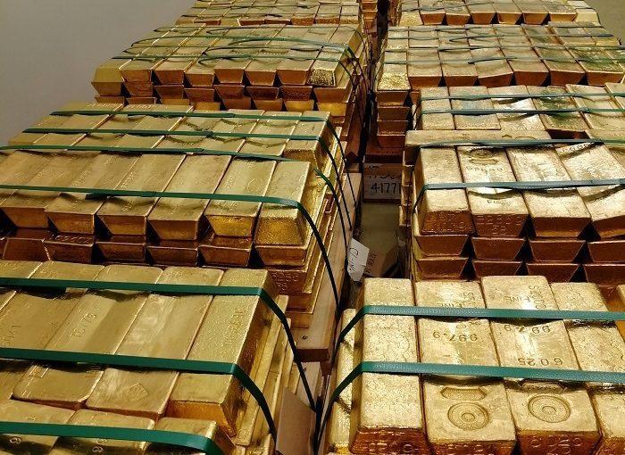 Goldbarren Ungarn Notenbank