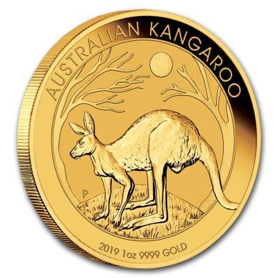 Känguru Goldmünze 2019