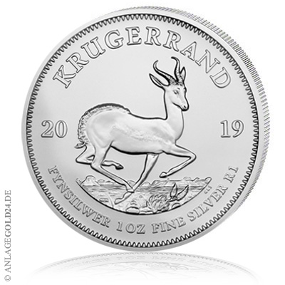 Krügerrand 2019 Silber Münze