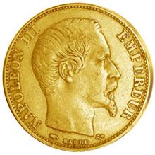 Goldmünze Frankreich