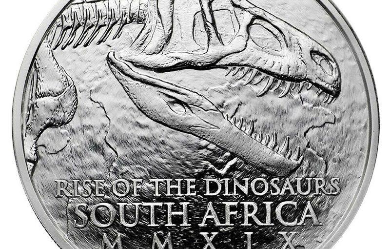Archosaurier Silberunzen aus Südafrika