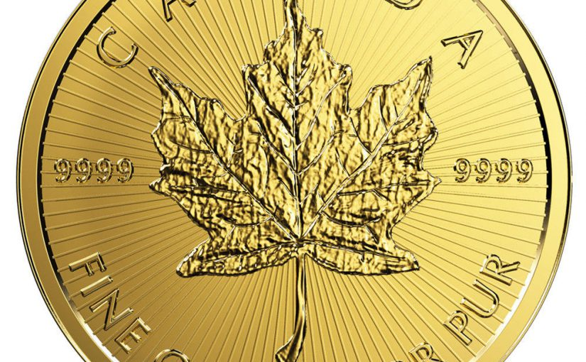 Goldmünze Maple Leaf