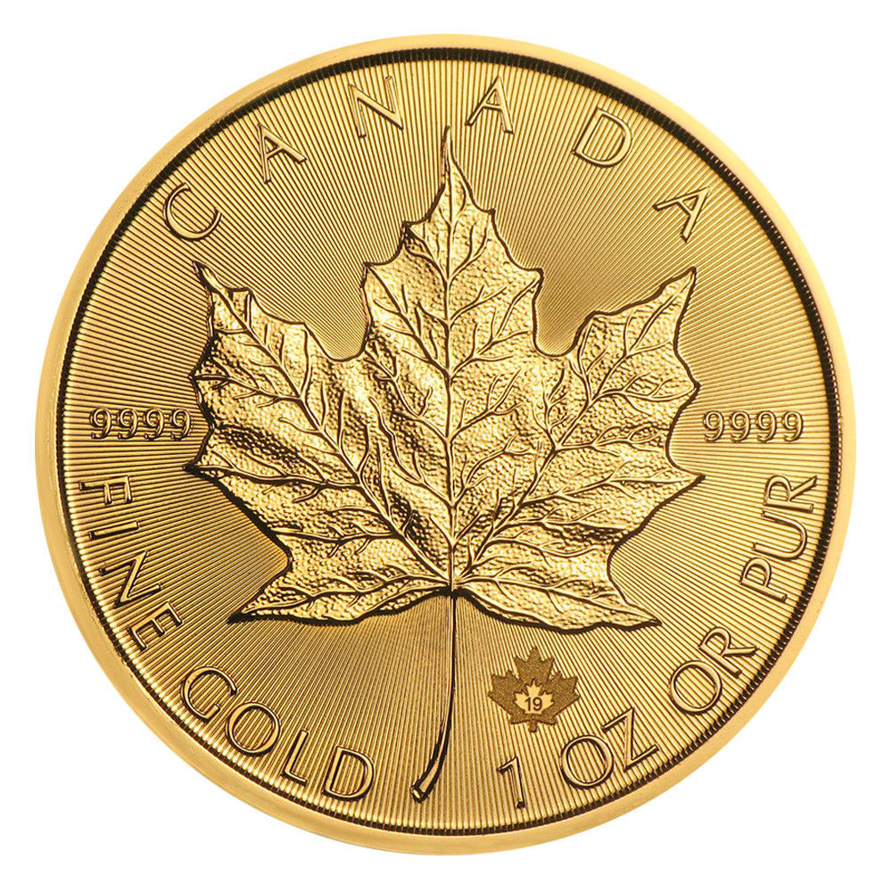 Goldmünze Maple Leaf 2019