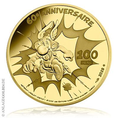 100 Euro Gold 60 Jahre Asterix