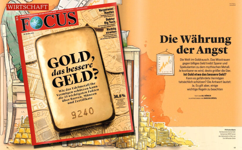 Die Welt im Goldrausch