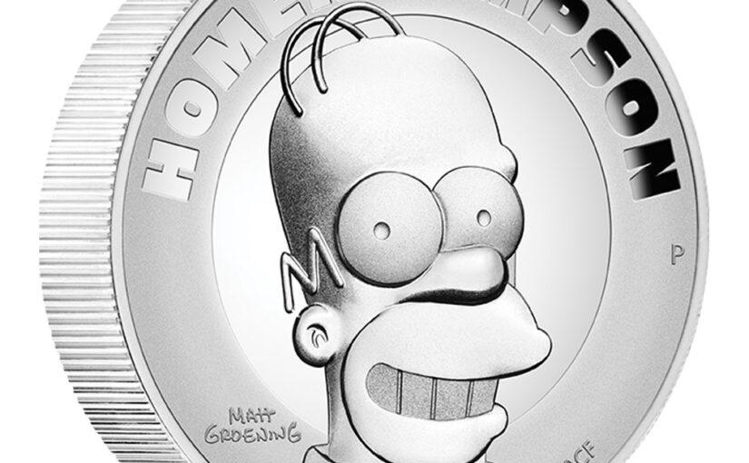 Tipp: 2 oz Silber The Simpsons – Homer Simpson 2021