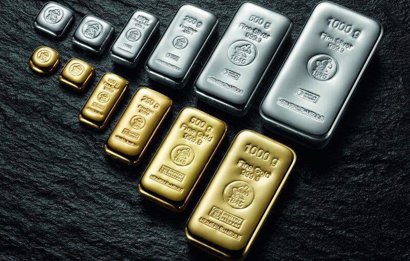 Präzisionsbarren der ältesten Gold- und Silberscheideanstalt